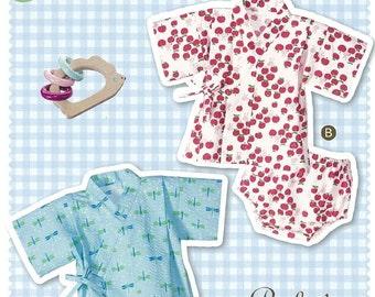 Easy Baby's Jinbei Full-Size Pattern Sheet