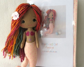 Nerissa - Mermaid Girl Pattern Kit