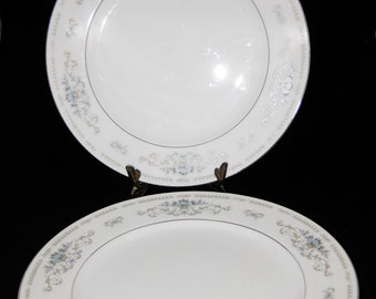 Wade Fine Porcelain China of Japan Diane Dinner Plates(2)