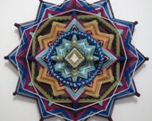 Wild and Free, a 12 inch, 12-sided, all wool, Ojo de Dios created by Sami Herbert