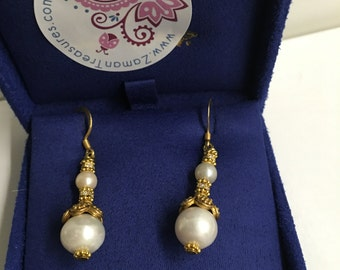 Summer Sale - Pearl Earrings