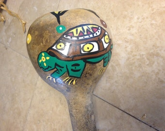 Cherokee Turtle Rattle Native american rattle native american made Deer