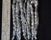 Long Strawberry Blonde MOHAIR / Kid Mohair Locks / Raw Unwashed / 6 Inches / 727KD1