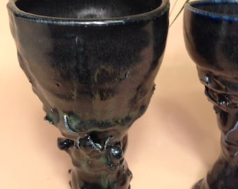 Game of Thrones Midnight Blue 2, Porcelain Goblet, Decorative, Royal Festivities and Celebration Ready