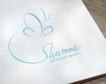 Premade Logo, Photography Logo Design, Business Logo, Logo, Premade Logo Design, Logos, Logo Watermark, Logo Branding,  Butterfly Logo, .