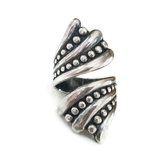balderas sterling bypass ring taxco mexico silver 925