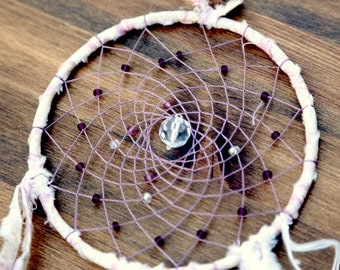 Dream Catcher- Lavender Spiral