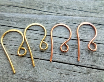 ONE per ORDER!! French Hook Handmade Ear Wires with your purchase of TEN dollars or more!