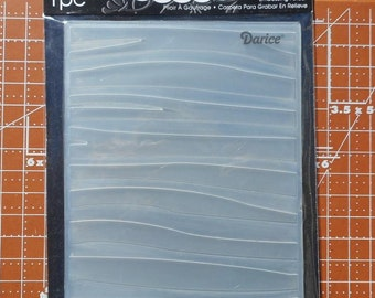 Zebra Embossing Folder Darice  1217-42