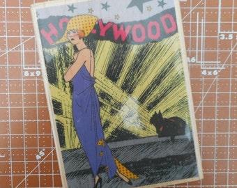 Hollywood Diva Stamp by Hampton Art JM4486