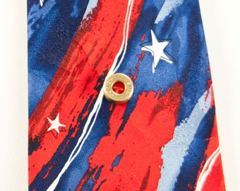 Etched bullet casing tie tack