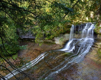Fine Art Photo of Laughing Whitefish Falls, Michigan (IDMIB247)