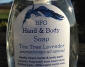 """Tea Tree Lavender """"Gentle & Deep Cleaning"""" Hand Soap Foamer 8.2 oz"""