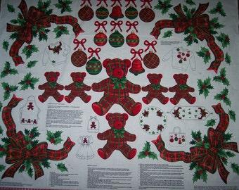 Christmas Plaid Appliques -- 3030