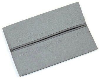 Travel Tissue Holder, Men's Gift, Light Grey,  Tissue Holder, Pocket Tissue Holder, Gift Under 10 Dollars