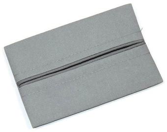Father's Day Gift, Travel Tissue Holder, Mens Charcoal Grey,  Kleenex Holder, Pocket Tissue Holder, Fabric Tissue Case