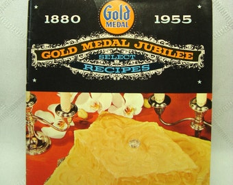 Gold Medal Jubilee Cookbook 1800 to 1955 Special Recipes