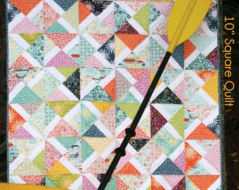"Amalie - 10"" square Pattern"