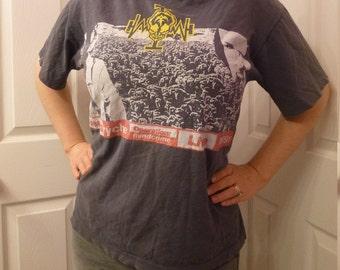Vintage Queensrÿche Band Tour T-shirt Size L Operation Mindcrime Progressive Rock