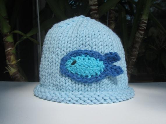 Fish baby hat baby fishing hat blue baby hat baby hat hand for Baby fishing hat