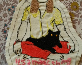 Sabrina the Teenage Witch jacket patch
