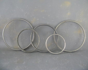Vintage Metal Embroidery Hoops