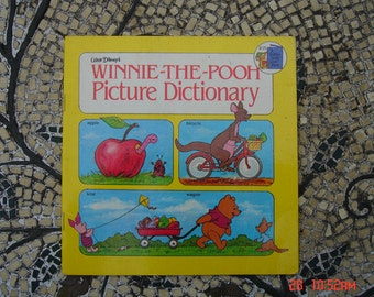 Winnie the Pooh Picture Dictionary - a Golden Look-Look Book - Sweet