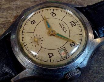 Vintage Men's Watch, Mens gifts - Wrist watch Chaika, ladies, watch, unisex watch