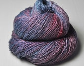Unicorn poo-poo - Tussah Silk Fingering Yarn