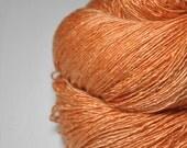 Too much Aperol Spritz OOAK - Tussah Silk Fingering Yarn
