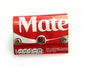 Mate Coke Can Purse, Pocket Wallet, Recycled, Handmade, Gift for a friend, Gift for a mate, Stocking Filler