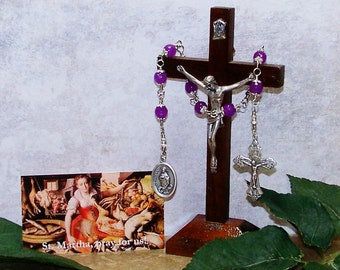 Unbreakable Chaplet of St. Martha - Patron Saint of Cooks, Homemakers, Innkeepers and Servers