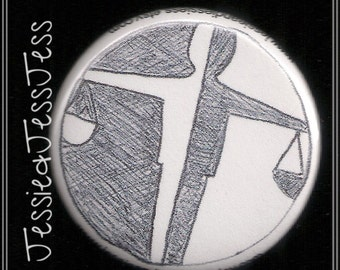 Candor faction button/magnet/keychain