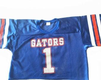 Vintage number one Gators jersey