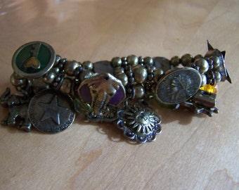 Most Unusual Dangling Charm Bracelet