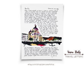 Venice, Italy: Travel Letters, March, A letter about the serene and sad Venice, Italy.