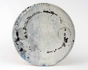Lunch Plate with 2 Circles
