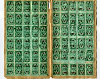Vintage S&H Green Stamps