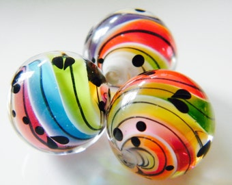 Made To Order -  SwirlBeads  by Caroline Dousi