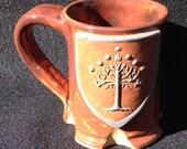 Tree of Gondor inspired mug, 8 ounces, Special Edition