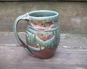 RESERVED FOR ANNEMug/ Tea Cup, 24 ounces, hand thrown stoneware by Jennie Blair