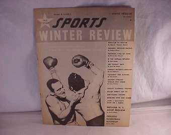 Street & Smith's All Star Sports Winter Review 1950 - 51