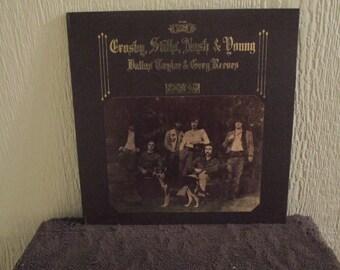 Crosby Stills Nash and Young vinyl -Deja Vu - Original - Vintage Record lp in EX Condition.
