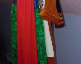Lot of 5 Vintage 1960s 1970s Dresses