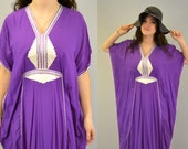 Tunic hippie purple festival bohemian caftan boho ethnic Morocco hipster indie Indieclothco kaftan woodstock folk