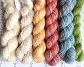 "Humpe - ""Once upon a time"" collection of handspun yarns"