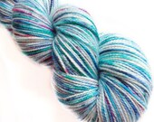 MyPrecious Pacific Ocean - Sparkle merino - Handdyed fingering weight yarn wool nylon stellina