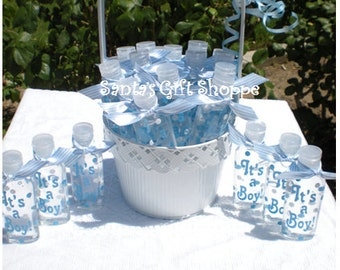 28 Baby Shower Decals for Favors - Decals for Hand Sanitizers - Teachers - Students - Children - SANITIZER'S NOT INCLUDED