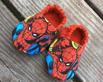 Spiderman Soft Baby Shoe, Size 0-3 Months