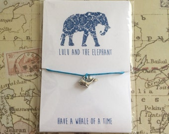 Have A Whale Of A Time - Friendship Bracelet